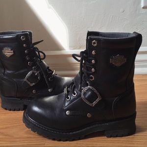Y2K era Harley Davidson boots